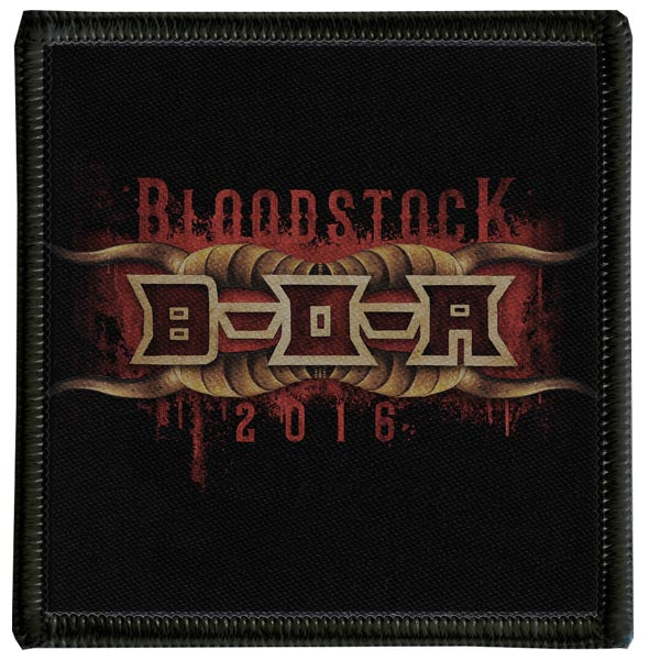 2016 Bloodstock Drips Patch
