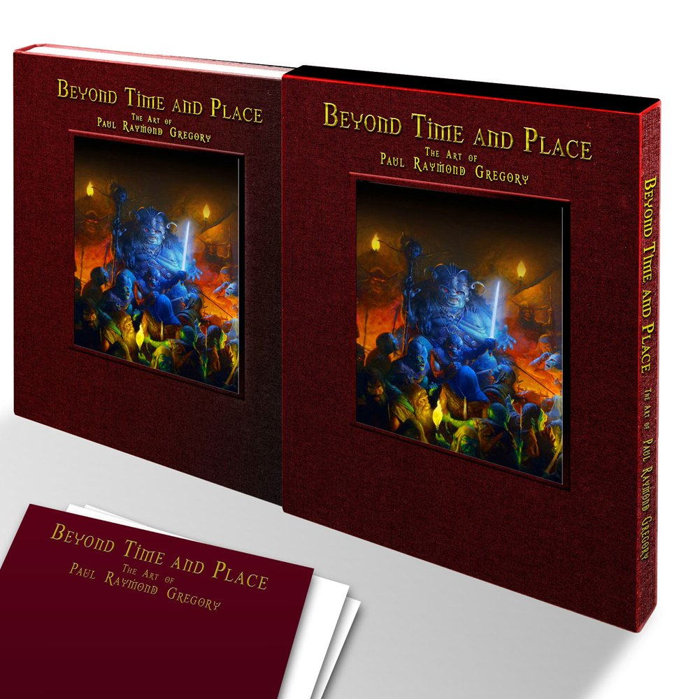 S54 - Beyond Time and Place The Art of Paul Raymond Gregory - Limited Edition Book