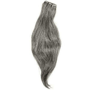 Vietnamese Natural Gray Hair Extensions - The Duchess Hair Co