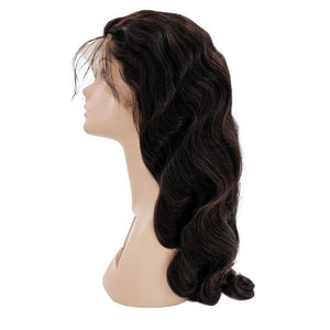 CUSTOM BODY WAVE RAW FULL LACE WIG - The Duchess Hair Co