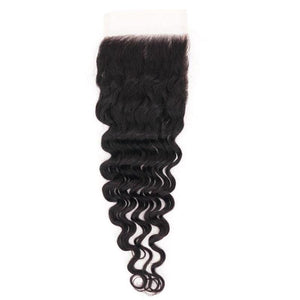 Brazilian Deep Wave HD Closure - The Duchess Hair Co