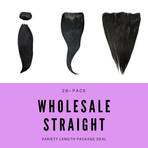 Malaysian Straight Variety Length Package Deal - The Duchess Hair Co