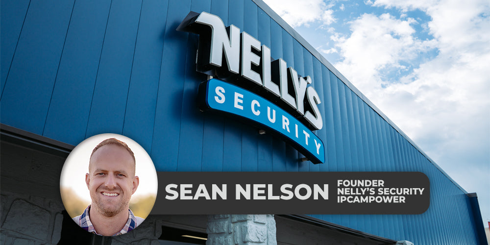 Sean Nelson, the Founder of Nelly's Security and IPCamPower