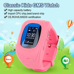 Smart Watch Child Anti-lost GPS Tracker Kids Baby Watch For IOS Android
