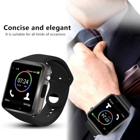 xSmartwatch With Camera For Apple Android Phones