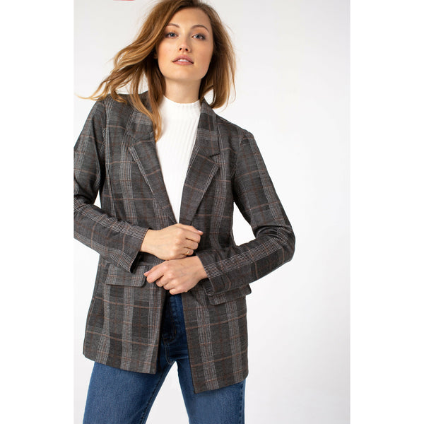 Boyfriend Blazer With Princess Darts