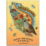 Wendy Gold California Shaped Mini Puzzle