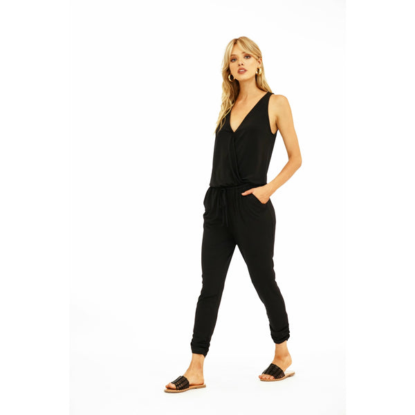Sleeveless Jogger Jumpsuit 6701