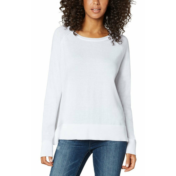 Raglan Sweater With Side Slits