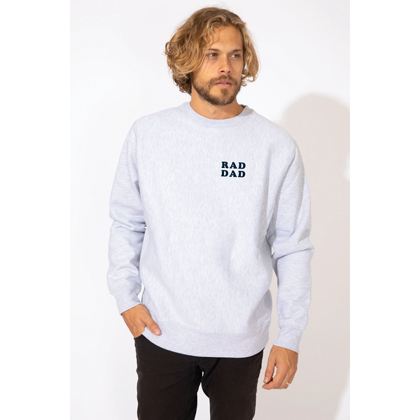 Rad Dad Crew Sweatshirt 5905
