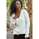 Super Destroyed Chunky Cardi