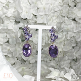 Oval Chunky Medium Drop Earring 107
