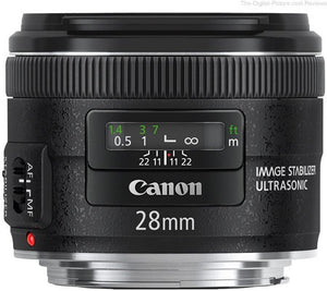 Canon EF 28mm f/2.8 IS USM. Pronta consegna
