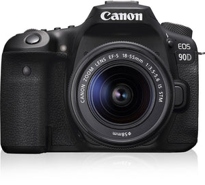 Canon Eos 90D + EF-S 18-55 IS STM