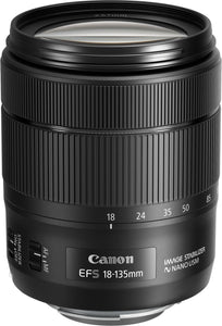 Canon EF-S 18-135mm f/3.5-5.6 IS USM NANO White box.