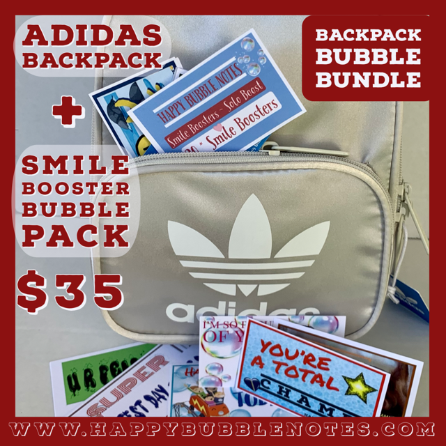 Backpack Bubble Bundle - Smile Boost