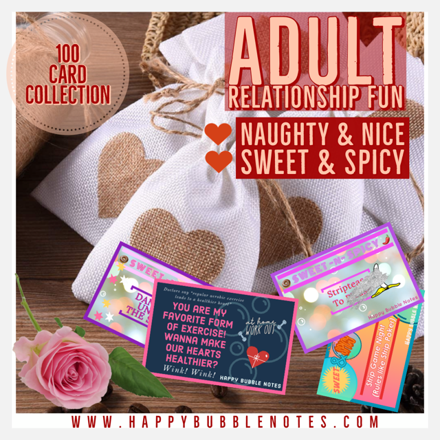 Naughty & Nice ~ Sweet & Spicy Love Notes