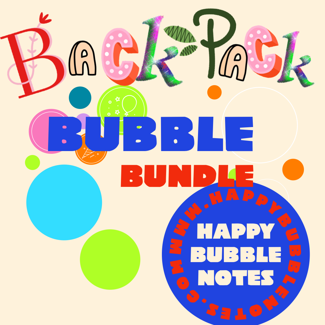 Backpack Bubble Bundle - Girl Power