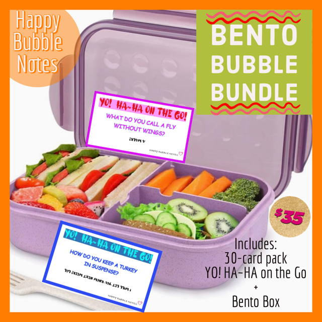 BENTO BOX BUBBLE BUNDLE - Kid Jokes