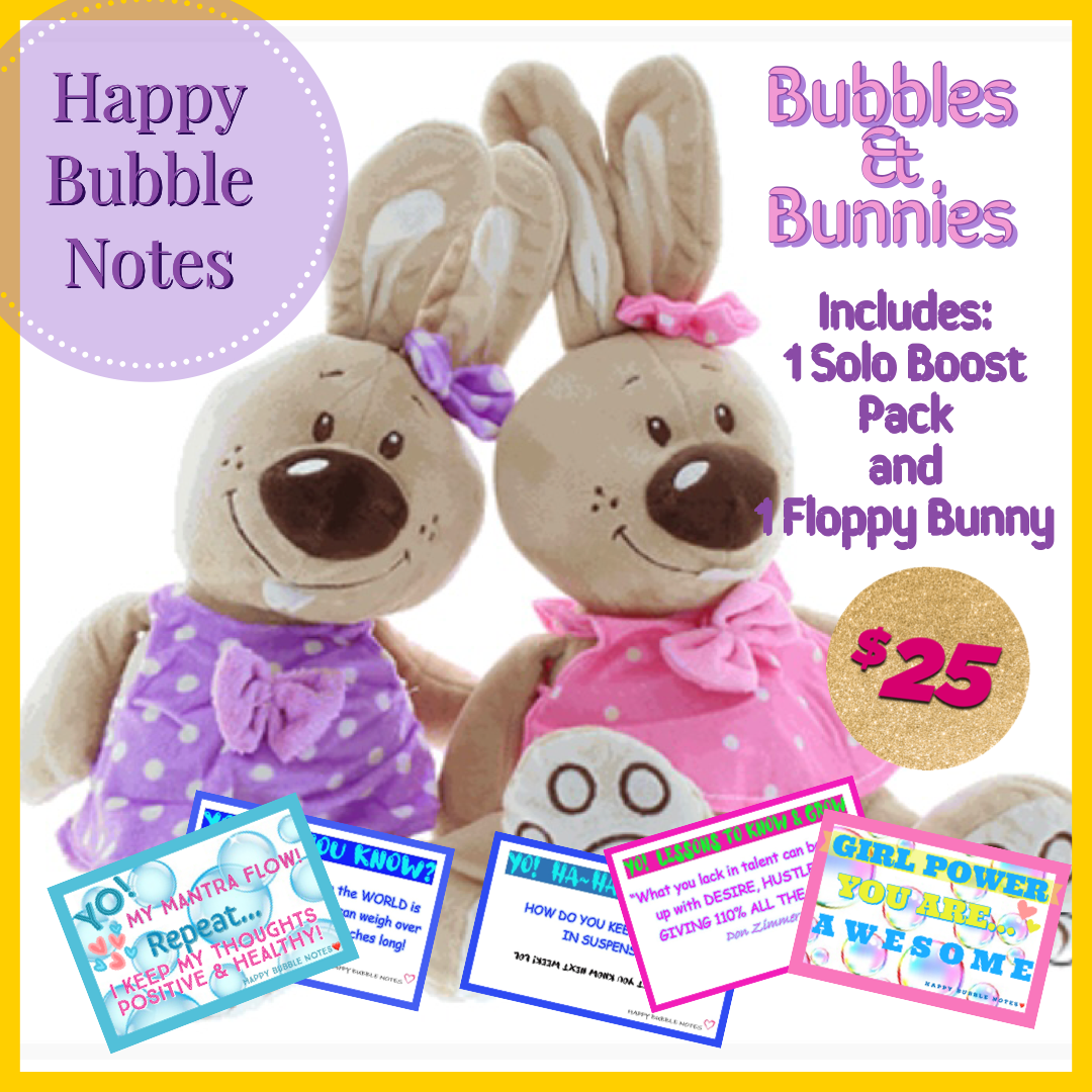 BUBBLES & BUNNIES - PERFECT FOR EASTER