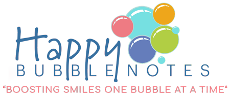 Happy Bubble Notes