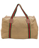 Monogram Nylon Leather Trim Duffle Bag
