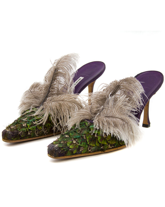 Feathered Mules