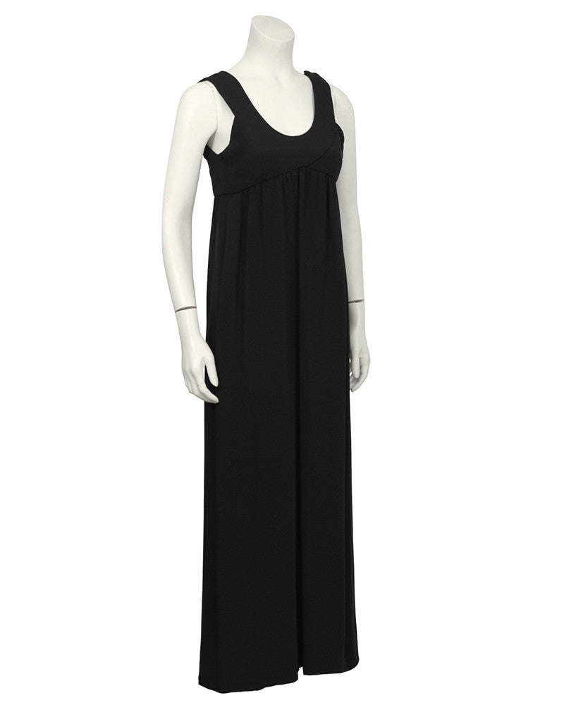 Simple Black Gown