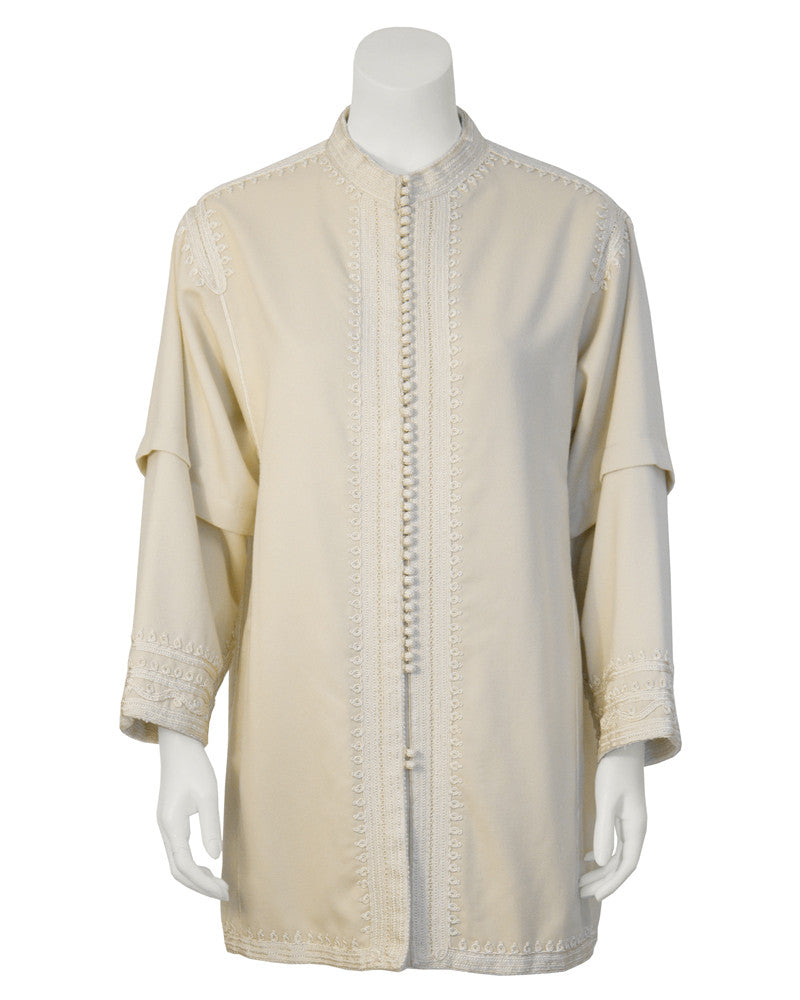 Cream Moroccan Jacket