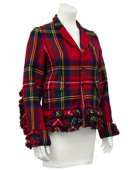 Tartan Wool Jacket, Autumn / Winter 2000