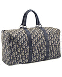 Baggages Boston Duffel in Blue Monogram