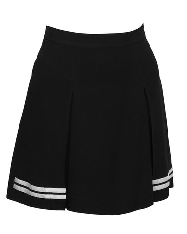 Black and White Mini Skort