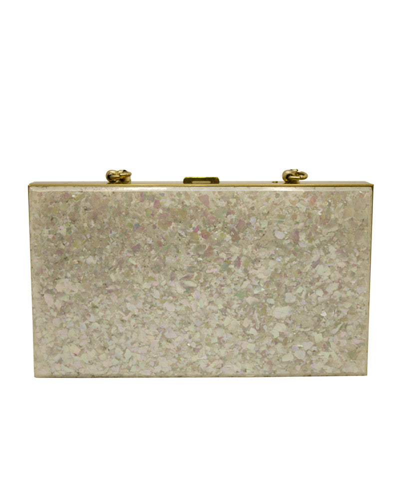 Mother-of-Pearl Minaudiere