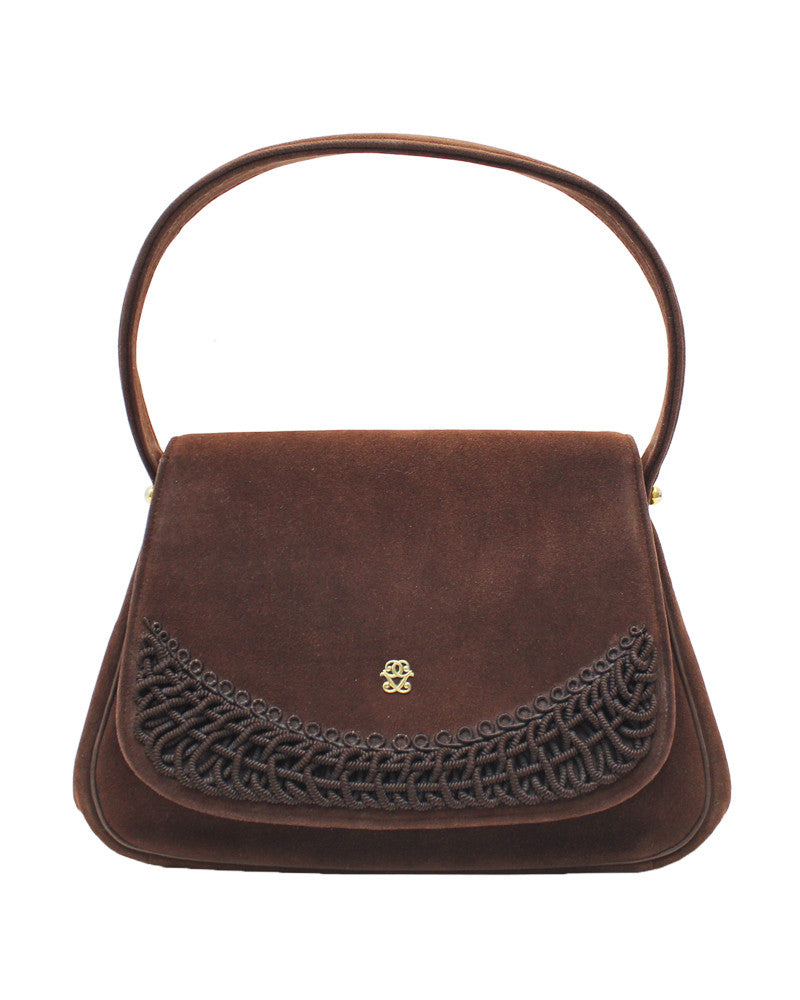 Brown Doeskin Bag