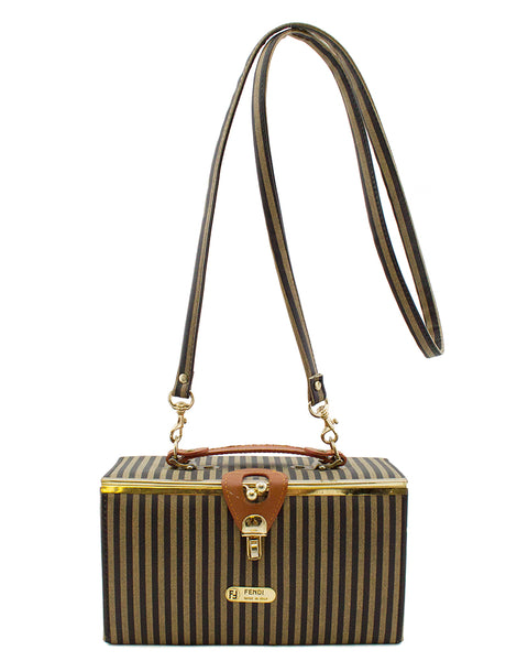 Zucca Stripe Box Train Bag