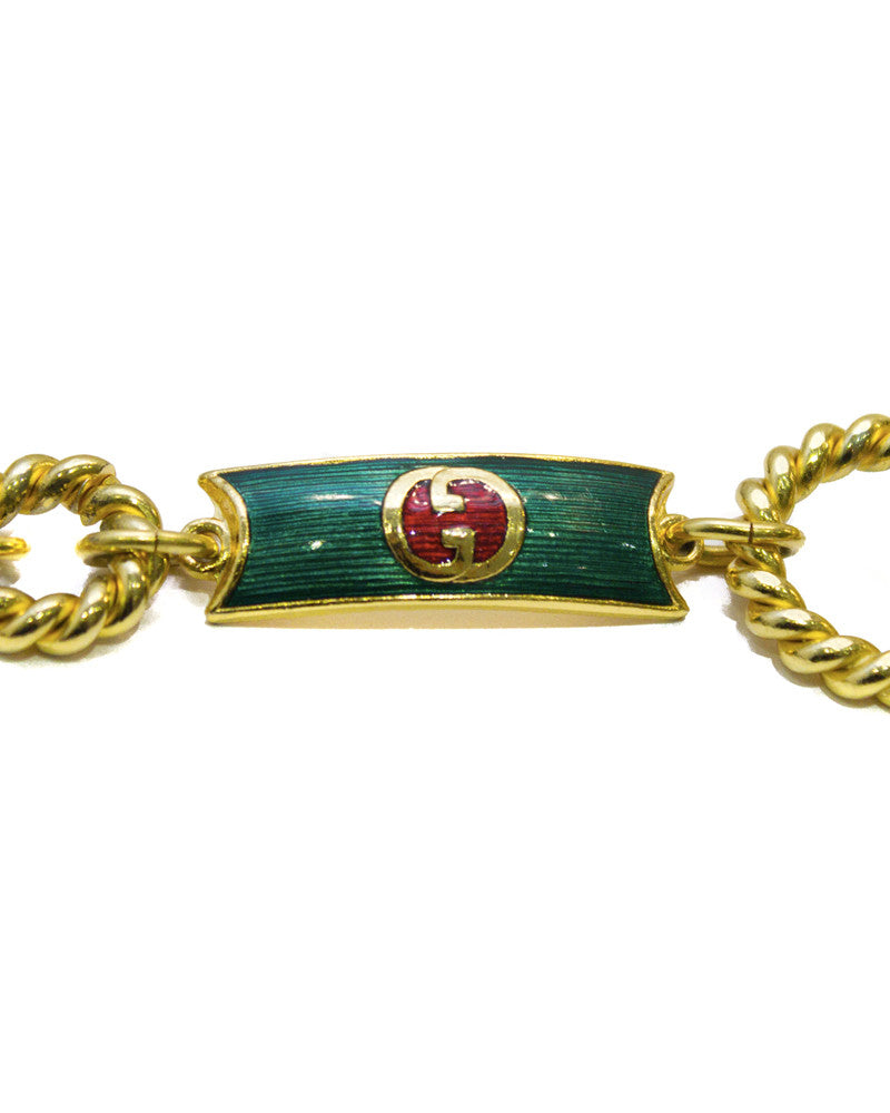 Green Enamel Belt