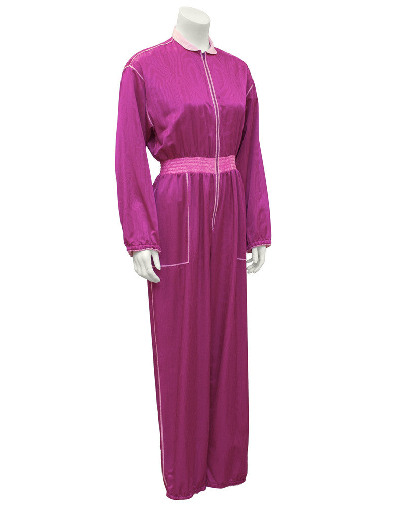 Magenta and Pink Jumpsuit