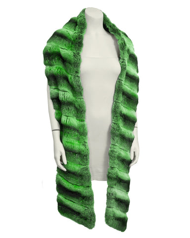 Green Chinchilla Shawl