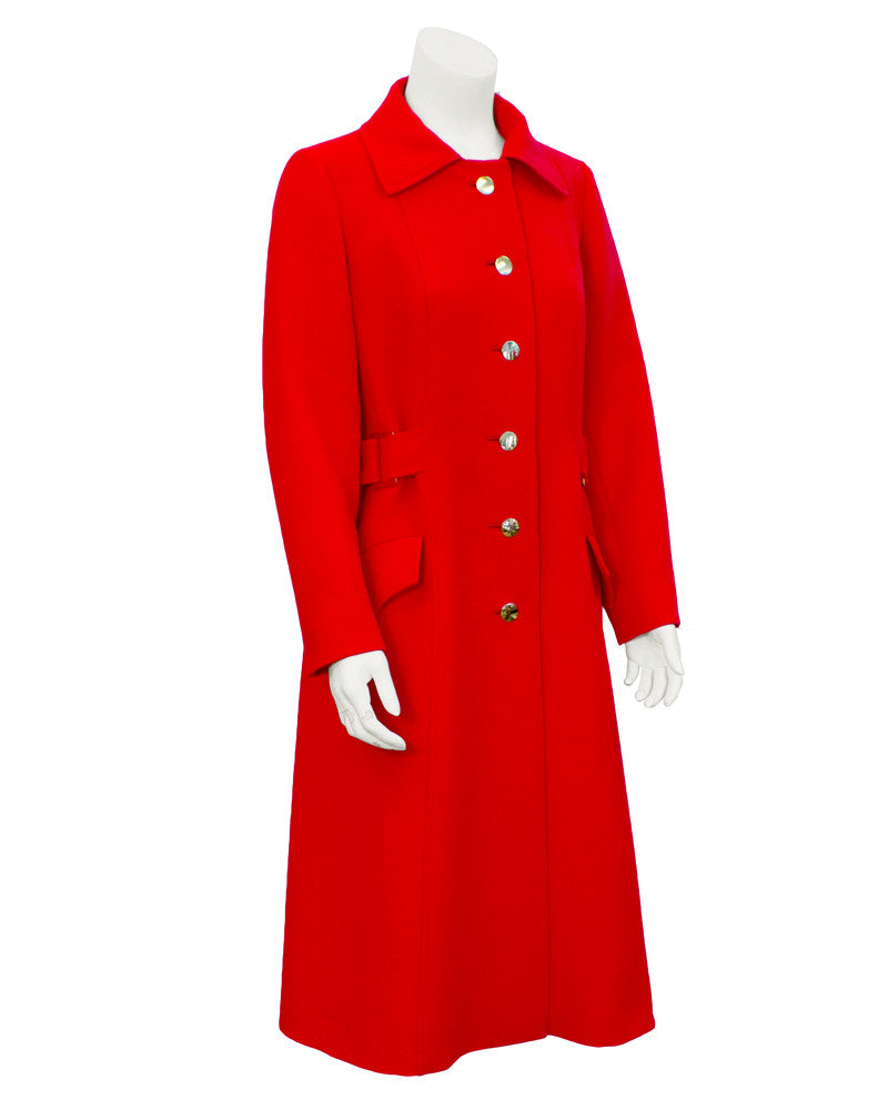 Red Coat and Dress Suit