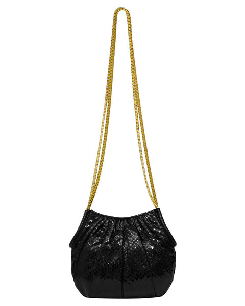 Black Lizard Bag