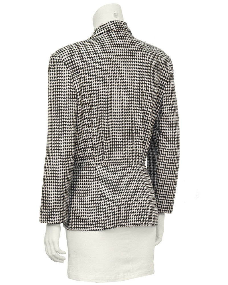 First Collection Houndstooth Top