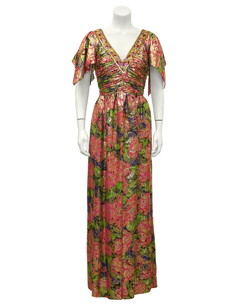 Moroccan Brocade Gown