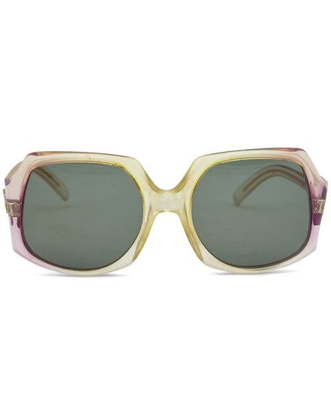 Oversized Gradient Sunglasses