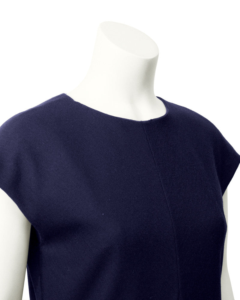 Navy Pocket Day Dress