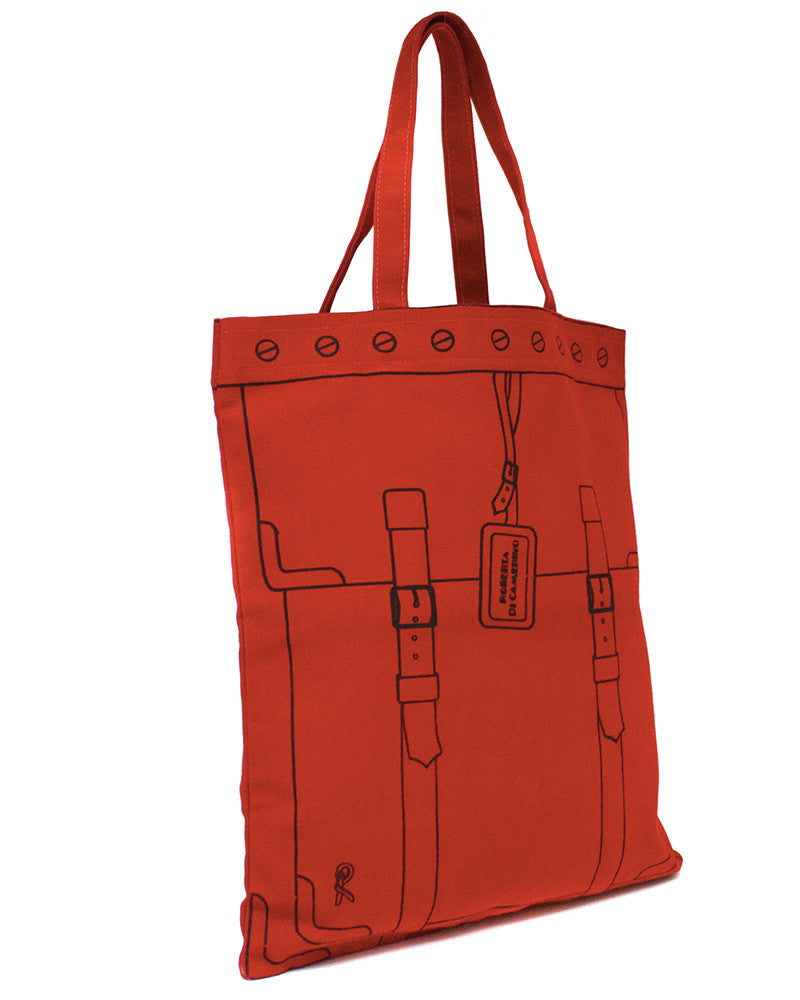 Red & Black Tromp L'Oeil Tote