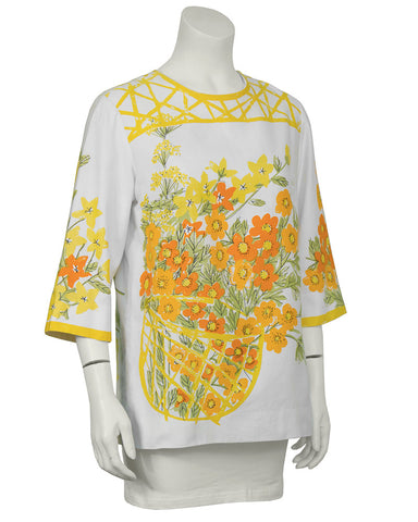 Cotton Marigold Blouse