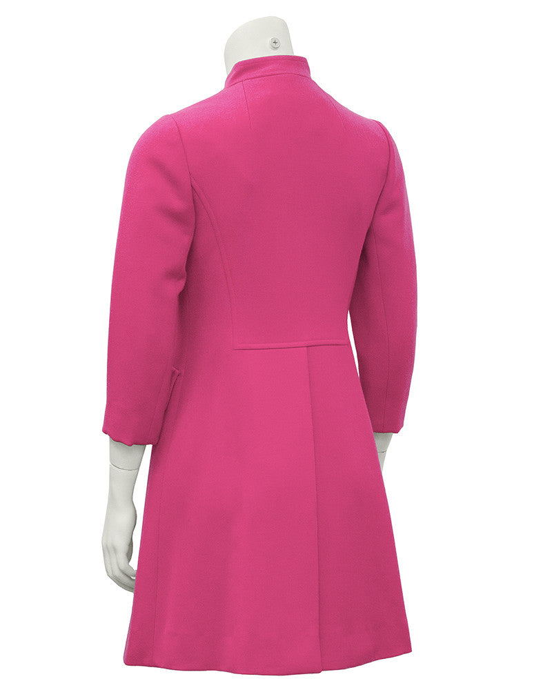 Hot Pink Mini Coat