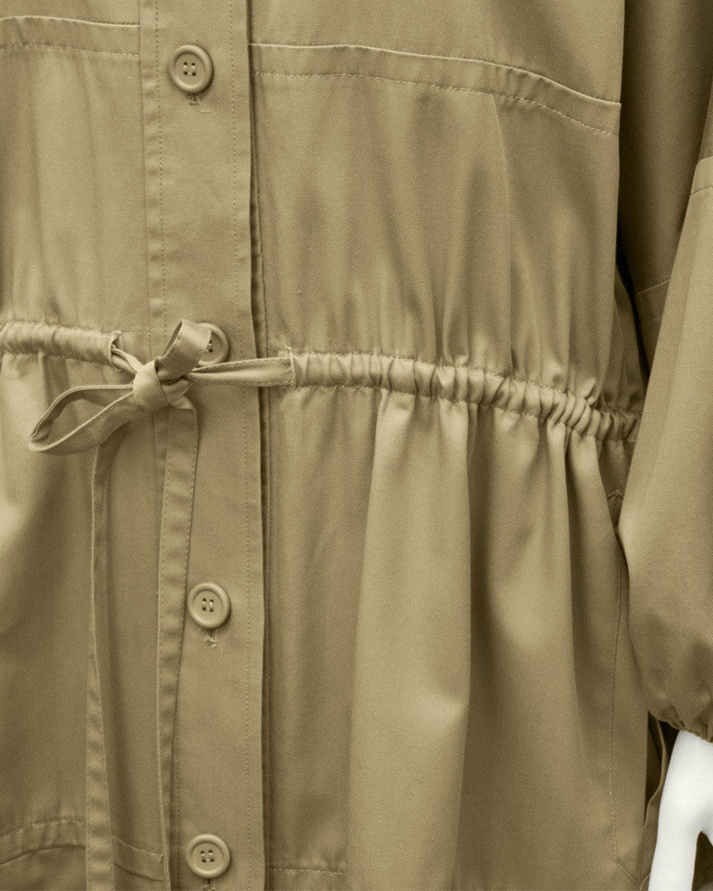 Beige Safari Coat