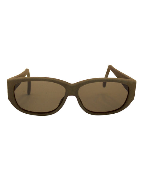 Faux Suede Glasses