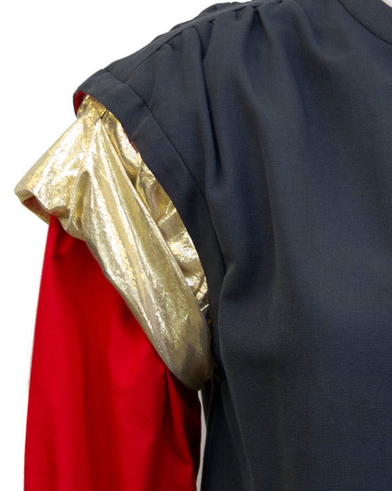 Grey, Gold & Red Jacket